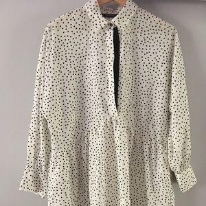 Zara Shirt dress, size S